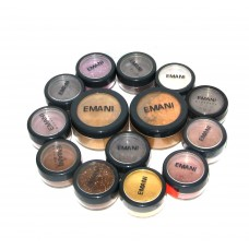 Emani mineral  Crushed foundation & 12 Color  Dust pack offer