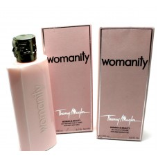 Thierry Mugler Womanity Shower Gel and Body Milk  200ml